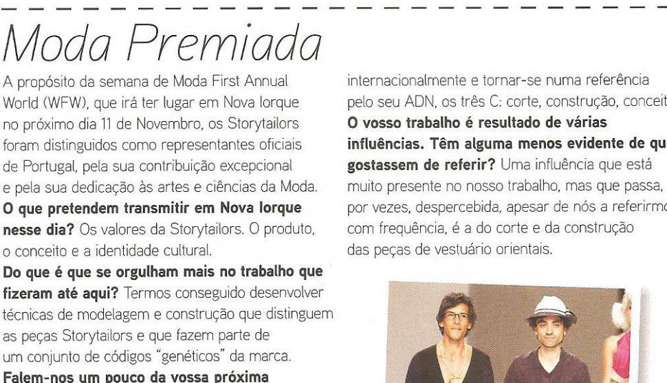 VOGUE Portugal #109 01-11-2011