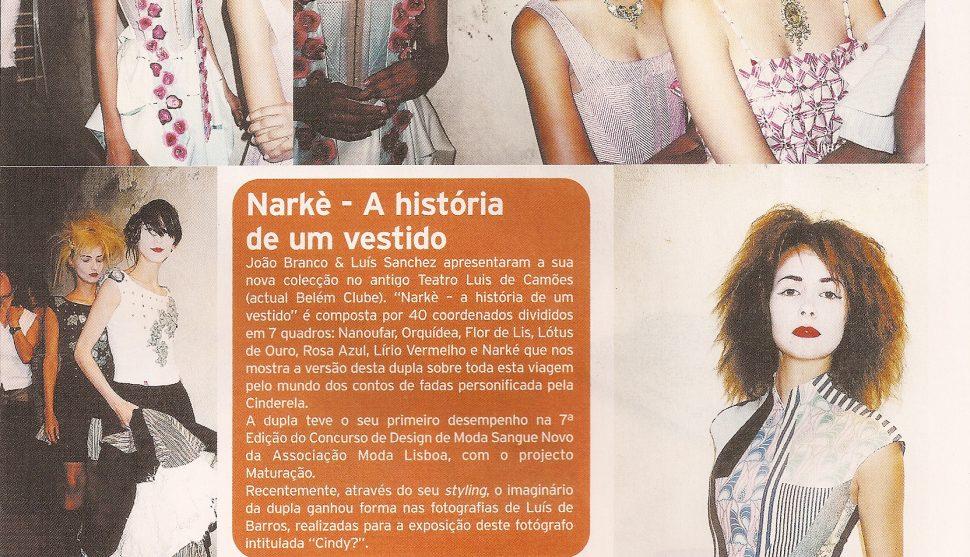 Domingo Magazine – Correio da Manha 2002